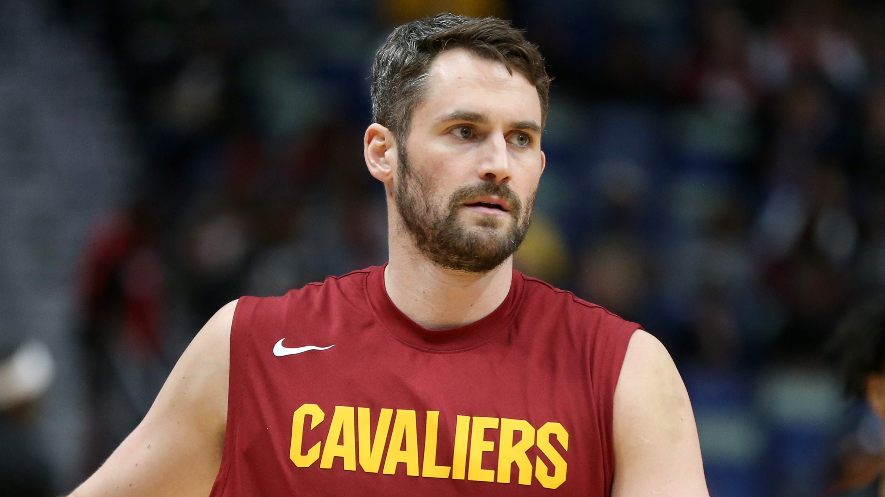 After eight months away, Cavaliers' Kevin Love falls in love with the game again