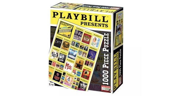 For when they can't collect Playbills in real life.