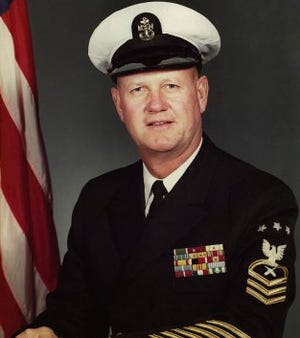 Delbert D. Black was serving aboard the USS Maryland when Pearl Harbor was attacked. He survived and went on to serve in the US Navy for 30 years, retiring as Master Chief Petty Officer of the Navy in 1971.