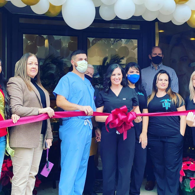 The ribbon is cut, and Aymond Medical Spa is open for business in Leesville.
