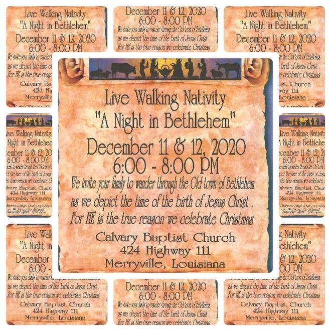 "Calvary Baptist Church Presents: ""A Night in Bethlehem"""
