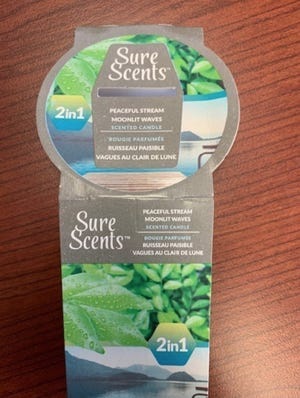The CPSC announced that a particular candle exclusively sold at Dollar Tree stores poses a fire hazard to consumers.