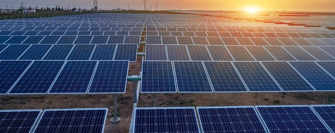 Brown County Commissioners Court members will hear a request Monday for a tax abatement for a proposed solar power project.