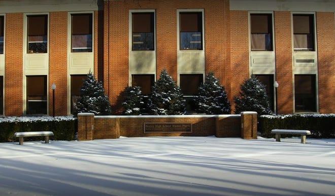Bexley High School's Alumni Plaza
