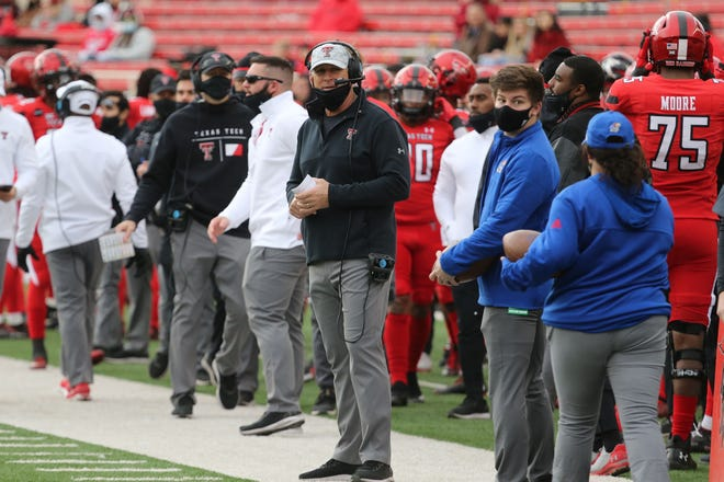 Texas Tech defensive coordinator Keith Patterson served as interim head coach for the Red Raiders' 16-13 victory Saturday against Kansas. Patterson stepped in for head coach Matt Wells, who tested positive for COVID-19 in days leading up to the game. Patterson is 1-1 in his college career as interim head coach, having also coached Pittsburgh in a BBVA Compass Bowl loss to end the 2011 season.