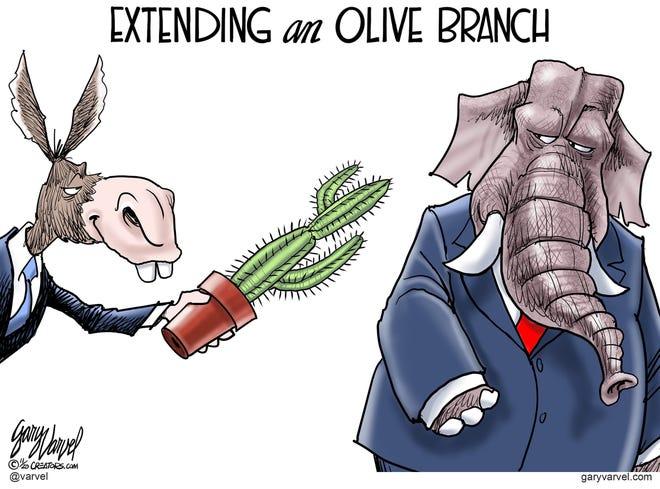 Today's editorial cartoon (Dec. 7, 2020)
