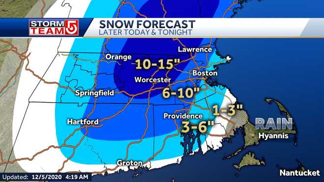 A winter storm warning has been expanded to Boston and MetroWest.