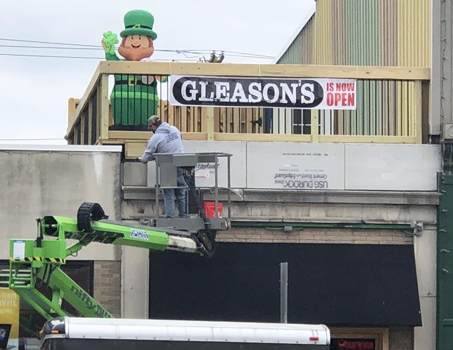 Count Patrick Gleason among those who might not want to be reminded of all that went wrong in 2020. His recently opened Gleason's Food & Drink was busy preparing for St. Patrick's Day when COVID-19 forced bars and restaurants to shut down indoor dining and instead concentrate on pickup or curbside service the day before.