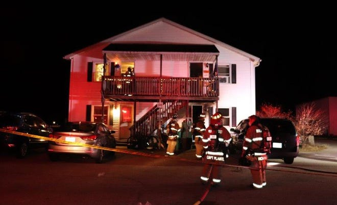 A Rochester man was severely burned in a fire at  50 Hansonville Rd. early Saturday Dec. 5, 2020.