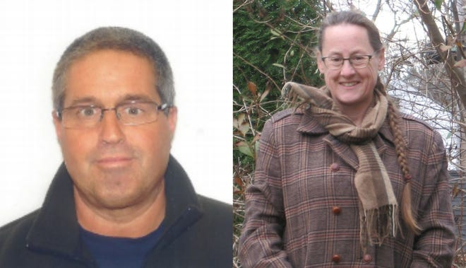 Competing for the Kittery Water District trustee seat are incumbent James Golter, left, and Jennifer Brewer. The original election on Dec. 8 resulted in a tie.