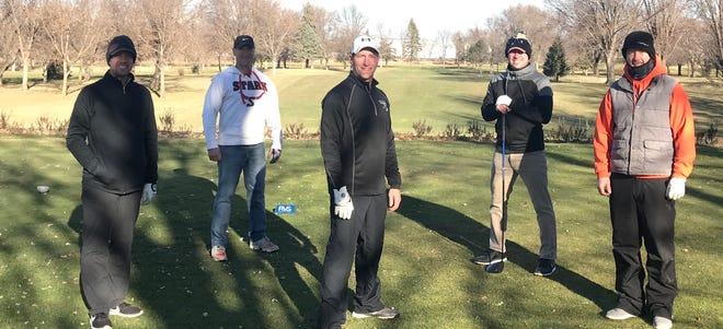 Dan Schmid, Brian Mathiowetz, Brad Mathiowetz, Bob Schmid, and Trent Weicherding.
