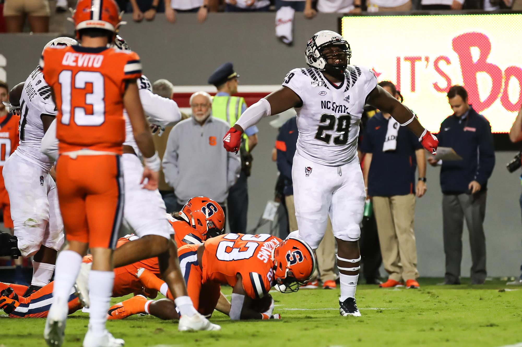 Alim McNeil will forgo his senior year and declare for the NFL draft.