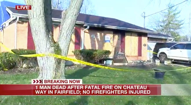 Enquirer reporting partner Fox19 went to the scene of a house fire on Saturday, Dec. 5, 2020, where an oxygen tank exploded and killed a man. The victim's name has not yet been released.
