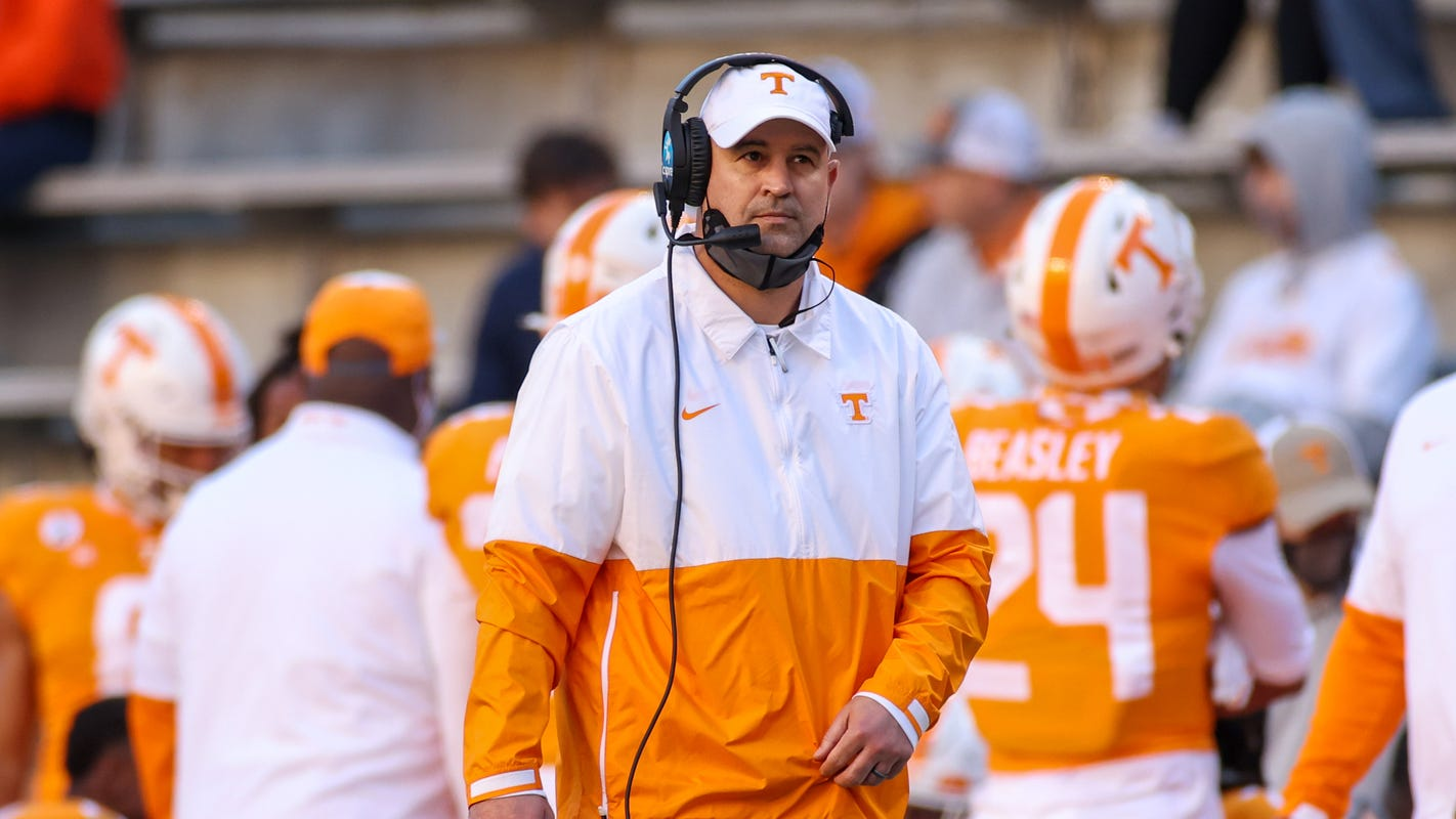 Jeremy Pruitt fired as Tennessee football coach for cause after internal investigation
