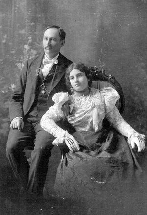 The eldest son of Sam and Martha Haas, Dr. John A. Haas and wife Jeanette Roos Haas, daughter of Opelousas businessman David Roos.