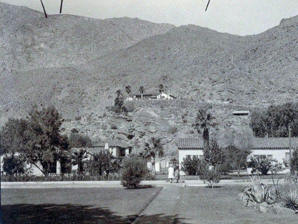 The Desert Inn is seen in this picture around the year 1930.