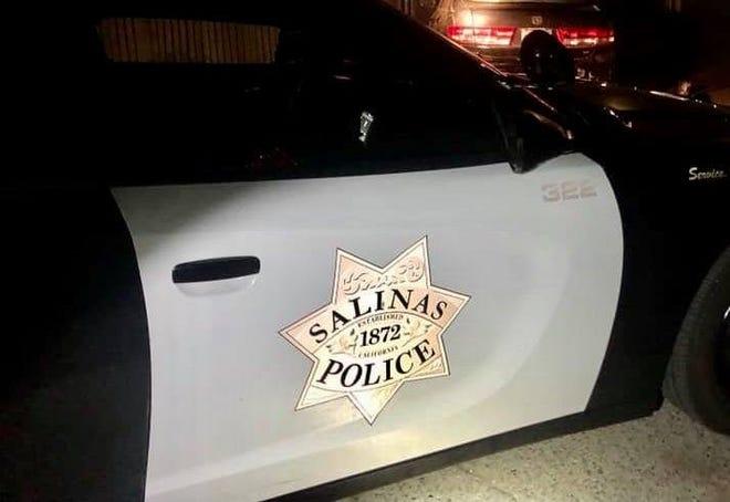 A Salinas police cruiser.