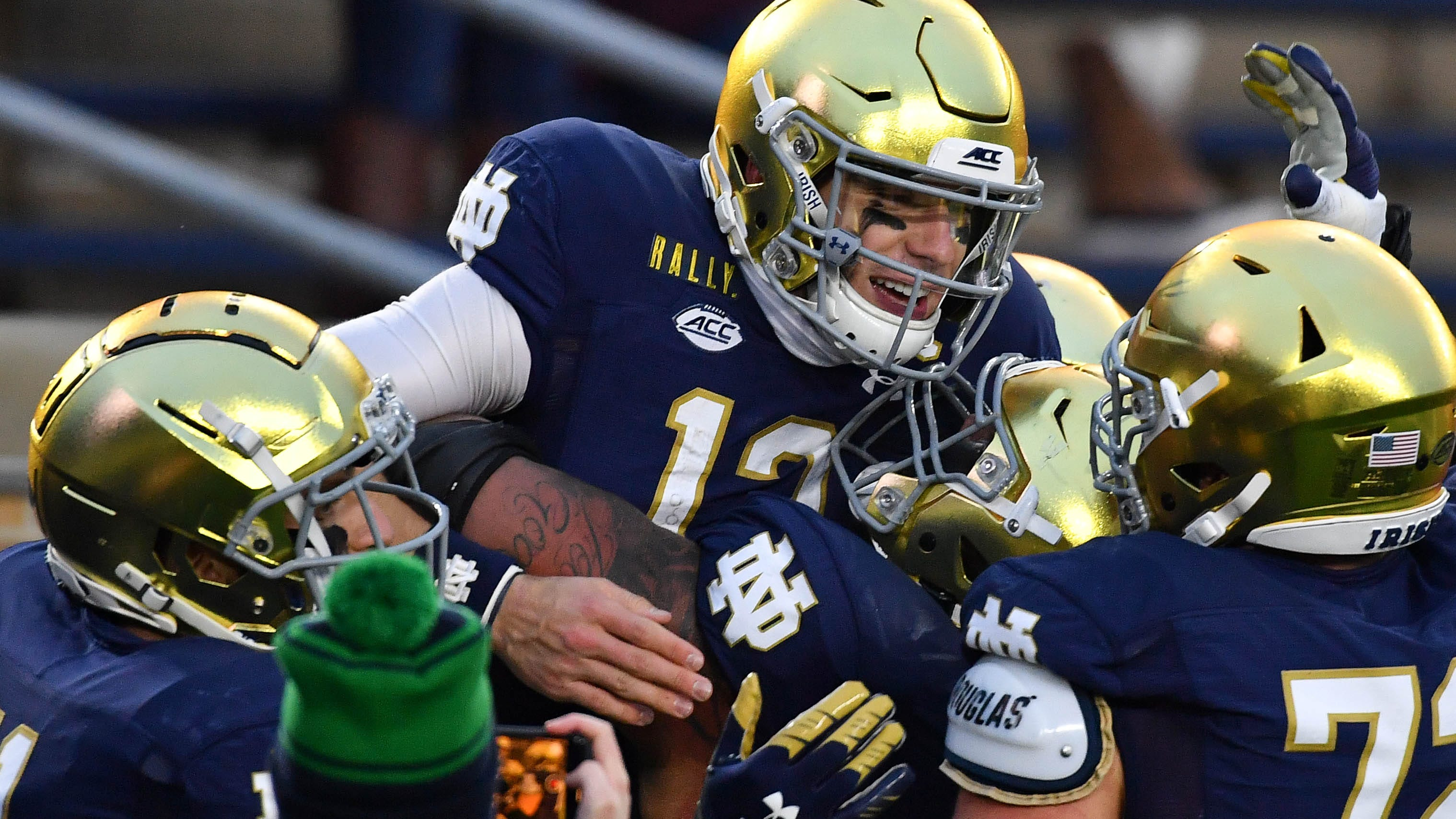 Sizing up NFL futures of Ian Book and the rest of Notre Dame's 2021 draft class