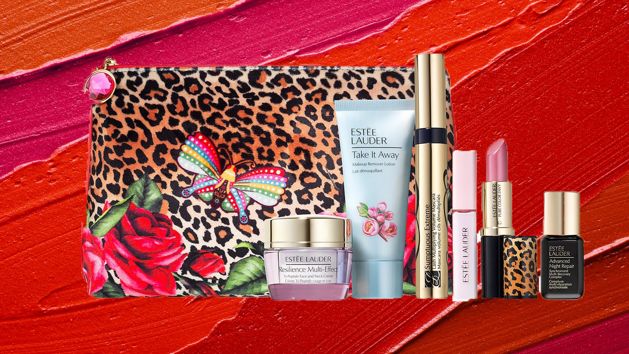 Estee Lauder Christmas Set 2021 Estee Lauder Free Gift Get This Seven Piece Gift Bag With Your Spend Of 40