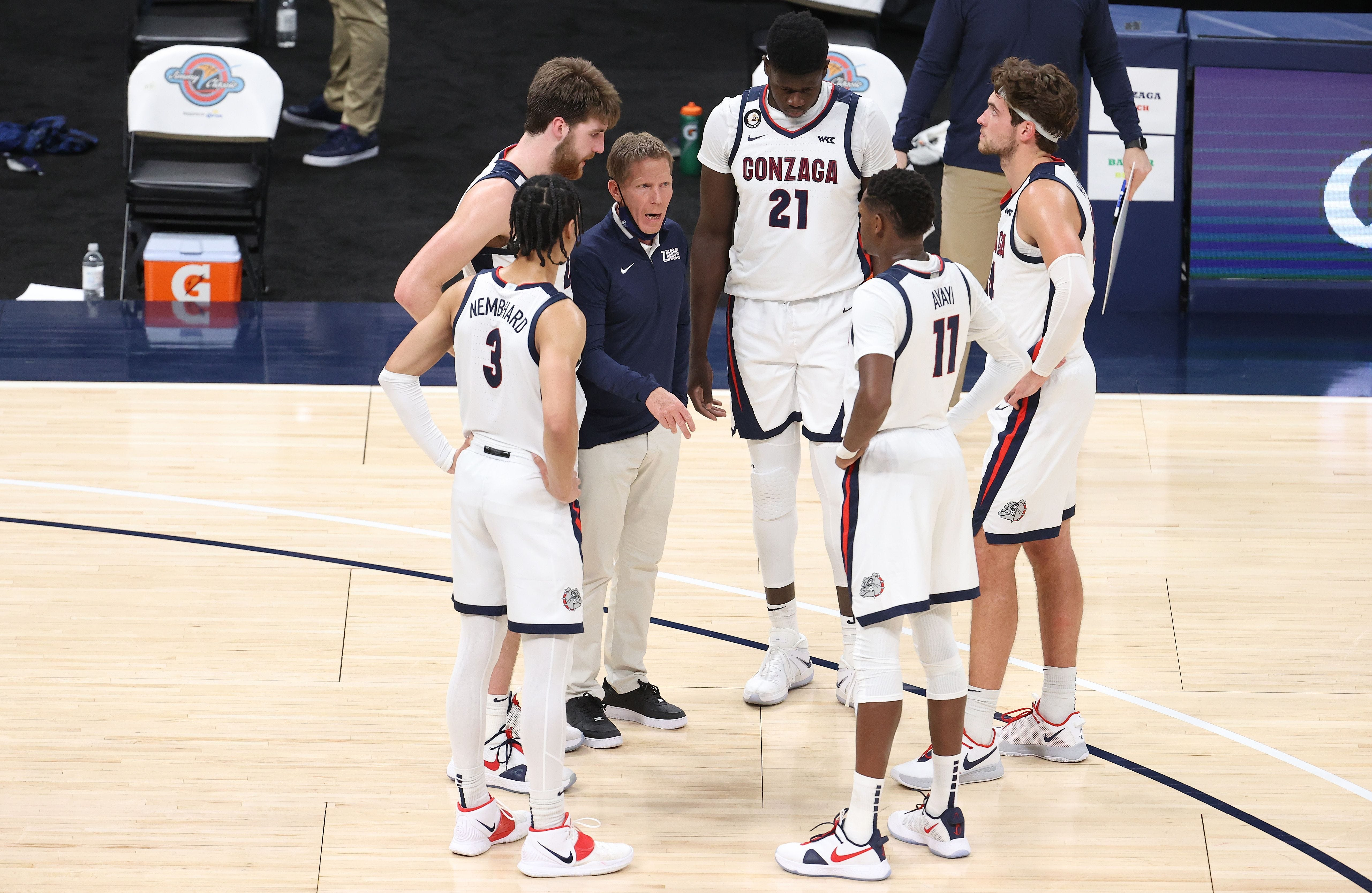 Gonzaga-Baylor cancellation reinforces college hoops' COVID-19 issues