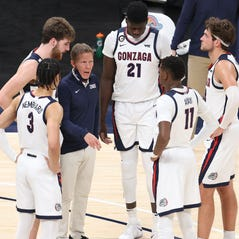 Two positive COVID-19 tests within Mark Few's Gonzaga basketball program forced the cancellation of their game against No. 1 Baylor on Saturday.