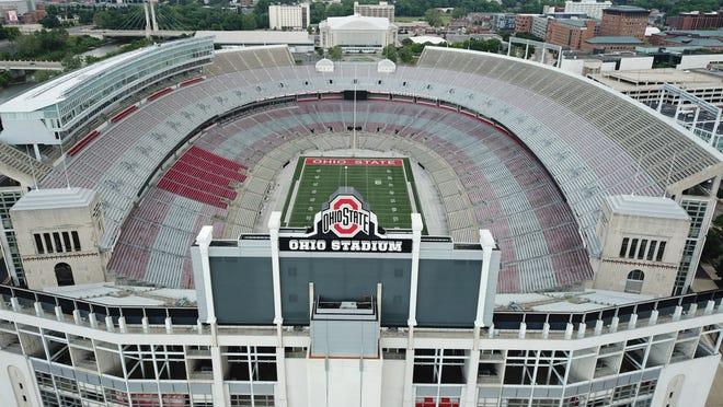 The Ohio State-Michigan game is scheduled for noon Saturday in Ohio Stadium.