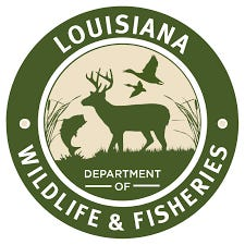 Wildlife and Fisheries logo.