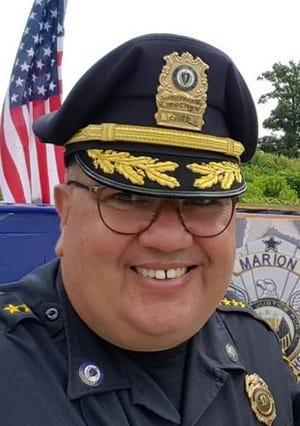 Marion Police  Chief John B. Garcia