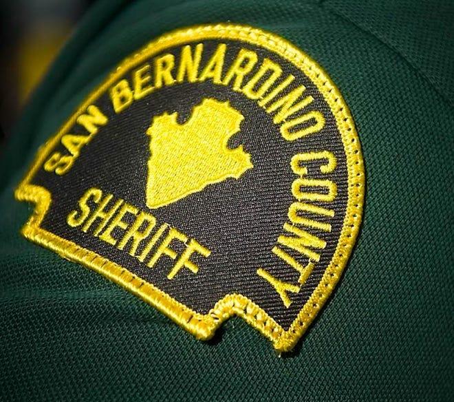 San Bernardino County Sheriff's Department badge.