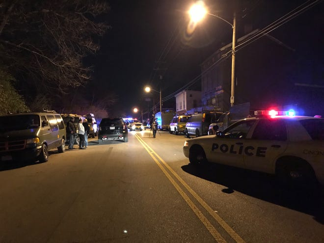 Police confirmed a homicide in the 4200 block of Eastern Ave. Saturday night.