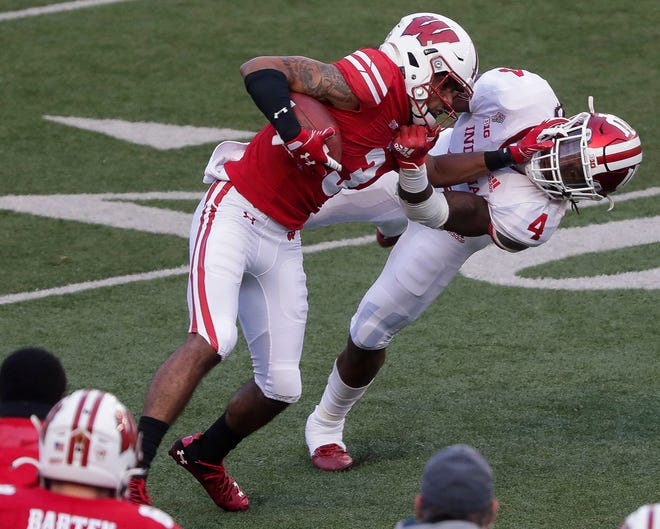 Wisconsin wide receiver Kendric Pryor missed most of last season with a concussion.