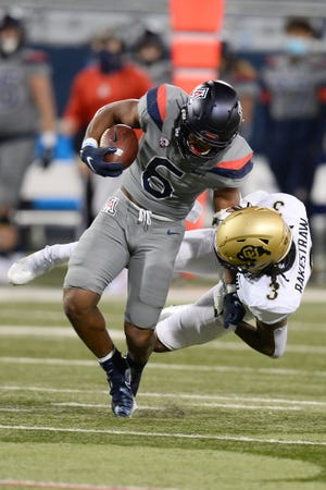 Third-year running back Michael Wiley has yet to be charged with a fumble during his UA career. He has touched the ball 88 times.