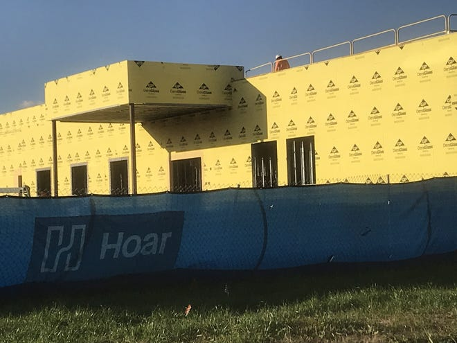 Encompass Health is building a 40-bed rehab hospital on Millicent Way in Shreveport.