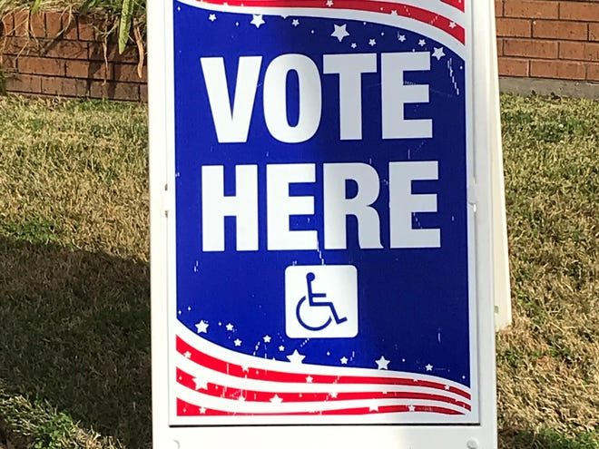 Voters went to the polls on Sunday in Shreveport for a light ballot.