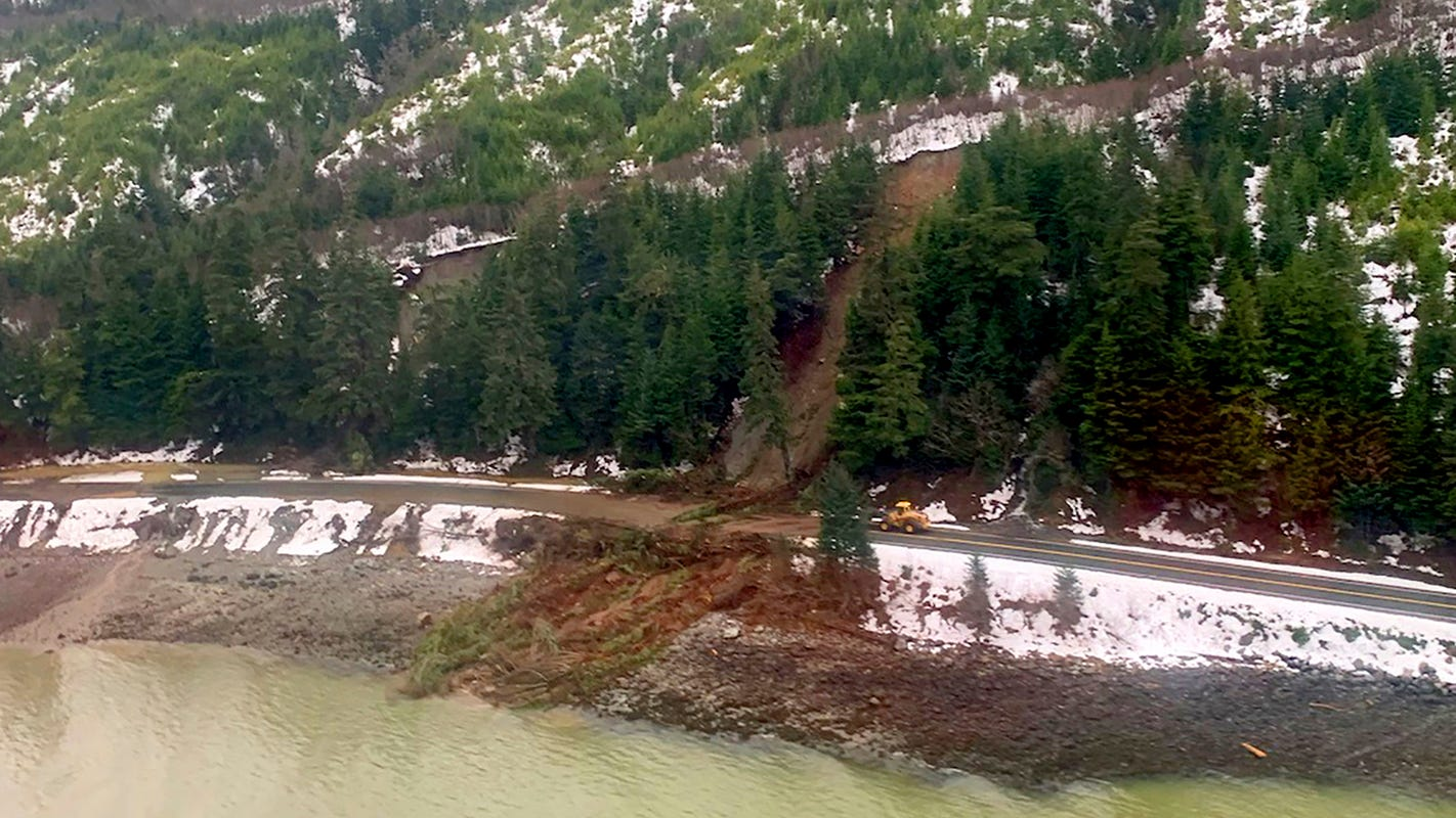 Alaska officials call off search for 2 people lost in Haines mudslide, citing ongoing rain and safety concerns