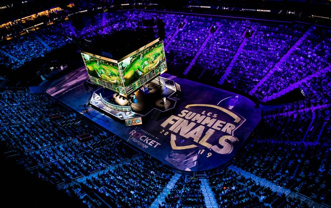 League of Legends Championship Series (LCS) Summer Finals presented by Rocket Mortgage at Little Caesars Arena on August 25, 2019 in Detroit, Michigan.