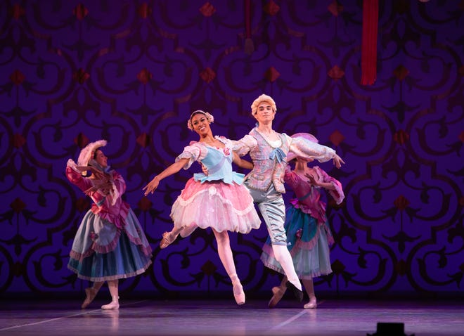 "Dancers from Ballet Austin perform in the 2019 version of ""The Nutcracker."" Ballet Austin filmed performances last year, not knowing the pandemic would make live performances impossible this year."