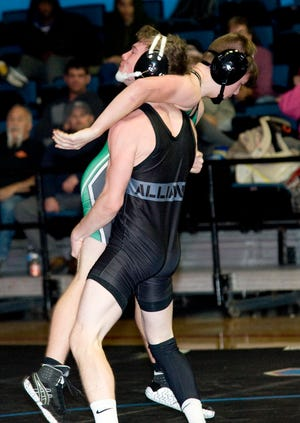 Alliance's Jack Penturf competed at 132 pounds last season but is expected to wrestle at 145 pounds this season.