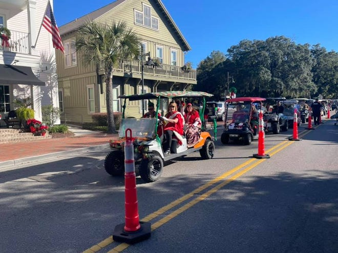 """The town of Bluffton hosted a """"reverse Christmas parade"""" this month that accounted for COVID-19 distancing recommendations. State and local health institutions recommend that families take a cautious approach to the upcoming holidays."""