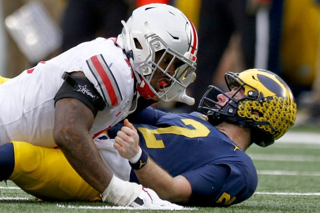 Ohio State and Michigan have met on the football field in every season since 1918, including in 2019 when OSU defensive end Tyreke Smith renewed acquaintances with Wolverines quarterback Shea Patterson.