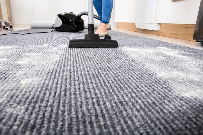 Be judicious when using powdered carpet deodorizers.