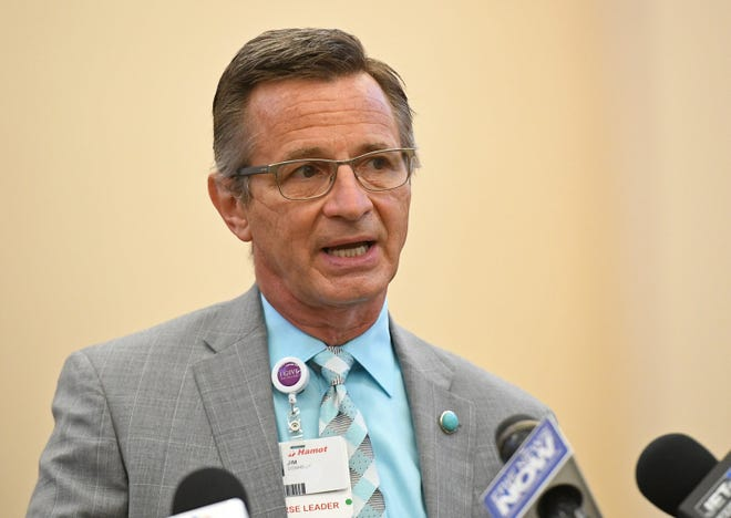 Jim Donnelly, R.N., chief nursing and quality officer for UPMC Hamot.