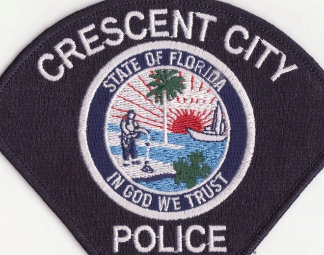Crescent City police patch.