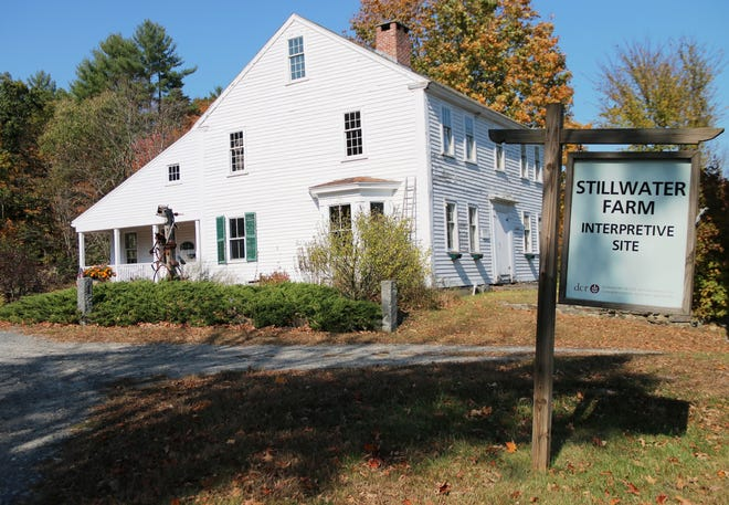 The Stillwater Farm Interpretive Site buildings are closed during the pandemic, but the self-guided trail is still open.