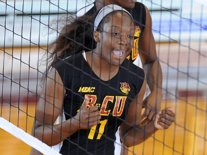Bethune-Cookman's Rakaya Neely, a Frostproof grad, has been named to the Mid-Eastern Athletic Conference All-Time Volleyball Team.