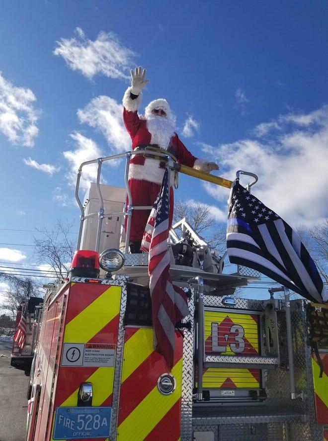 Sutton Christmas Parade 2021 Santa S Routes On Sutton Fire Department S Santa Run
