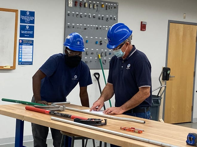 With the Center for Disease Control's recommended health and safety guidelines in place, Holliston's Wayne J. Griffin Electric recently participated in National Apprenticeship Week.