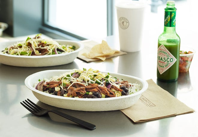A Chipotle Mexican Grill has opened in Aurora at 7020 Aurora Road.
