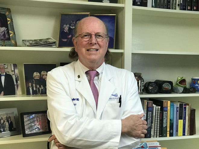 Rheumatologist Rad Moeller has been following the development of the Modena COVID vaccine and believes it will offer a lot of hope. He describes the medicine as a 'home run' to beat the virus. [Contributed photo]