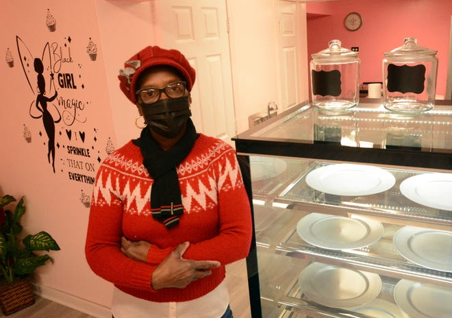 Jean Smith is opening her business called Sweet Momma's bakery and catering at 87 Town St. in Norwichtown soon. [John Shishmanian/ NorwichBulletin.com]